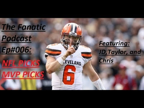TFP EP#006: TURKEY DAY/WEEK 12 NFL Picks + MVP picks and more