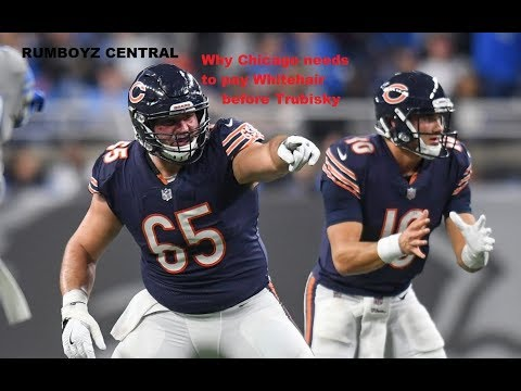 Chicago Bears need to pay Cody Whitehair before Trubisky