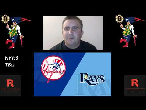 New York Yankees vs Tampa Bay Rays Live Stream Play By Play & Reaction
