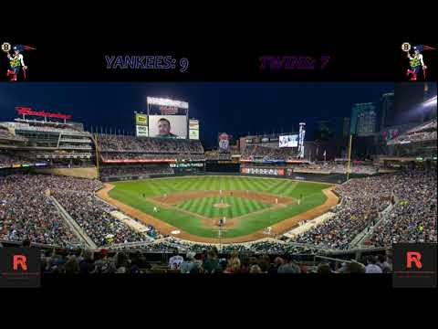 New York Yankees vs Minnesota Twins Live Stream Play By Play And Reaction