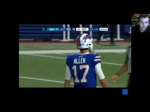 Josh Allen QB- Bills/Reviewing NFL Rookies With The Dab King