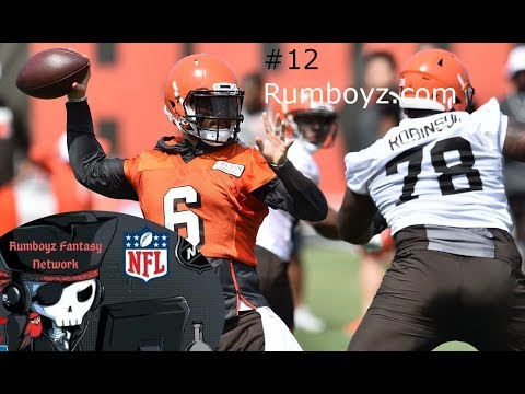 Cleveland Browns #12  JD's NFL Power Rankings