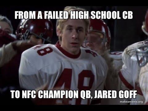 Jared Goff #4 Fantasy QB
