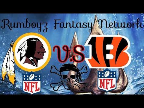 NFL Preseason Week 2 Cincinnati Bengals vs Washington Redskins