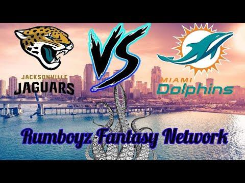 NFL Preseason Week 3 Jacksonville Jaguars vs Miami Dolphins #NFL