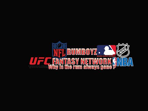Rumboyz Listener's League Fantasy Football Draft