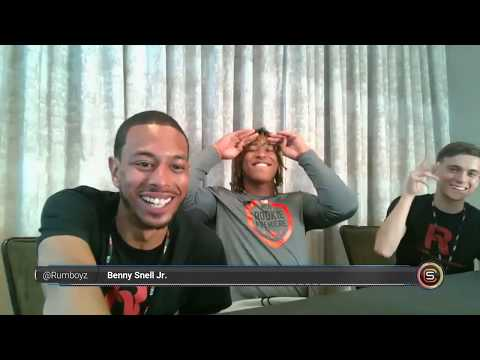 Benny Snell Jr. Pittsburgh Steelers NFL Rookie Interview! #NFL100