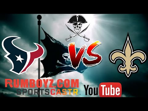 NFL Monday Night Football Houston Texans vs New Orleans Saints