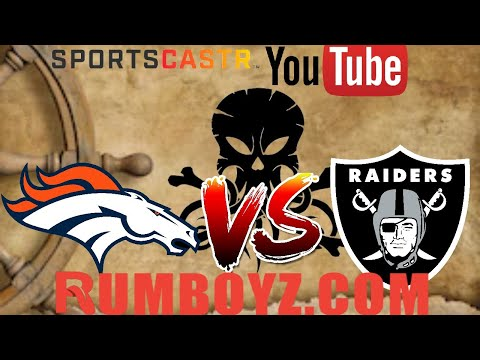 NFL Monday Night Football Denver Broncos vs Oakland Raiders! #MNF #NFL