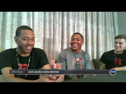 Josh Jacobs NFL Rookie Interview Oakland Raiders! #NFL #NFL100