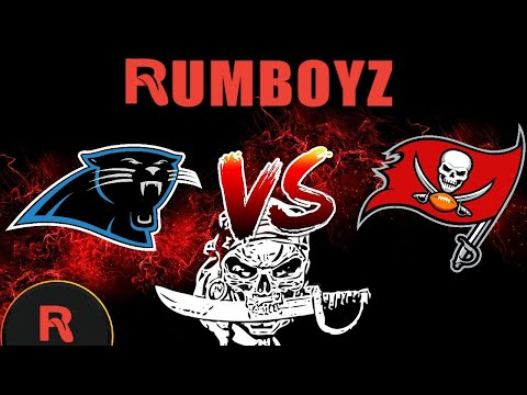 NFL Thursday Night Football Carolina Panthers vs Tampa Bay Buccaneers #TNF #NFL