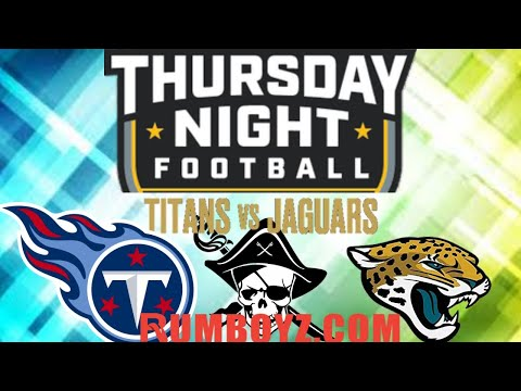 NFL Thursday Night Football Tennessee Titans vs Jacksonville Jaguars #TNF #NFL