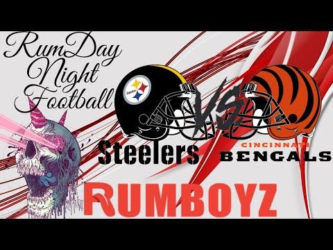 NFL Monday Night Football Cincinnati Bengals vs Pittsburgh Steelers