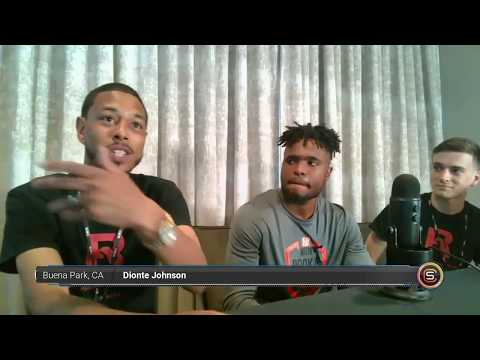 Diontae Johnson Pittsburgh Steelers NFL Rookie Interview #NFL #NFL100