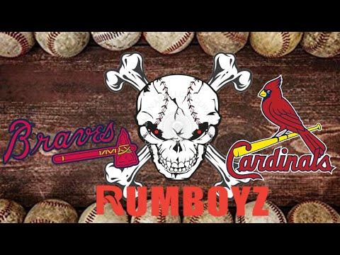 NLDS Game 1: St. Louis Cardinals vs Atlanta Braves #MLB #NLDS