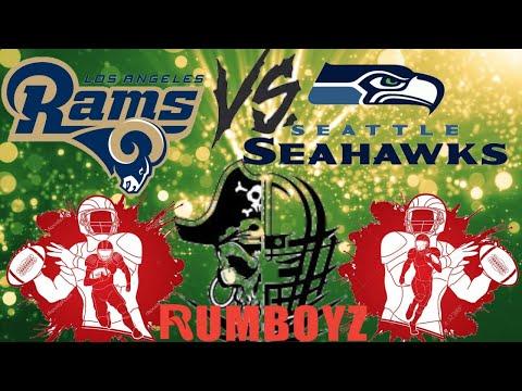 NFL Thursday Night Football Los Angeles Rams vs Seattle Seahawks #NFL #NFL100