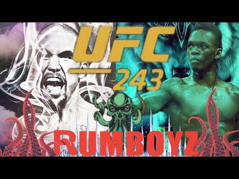 UFC 243: Whittaker vs Adesanya
