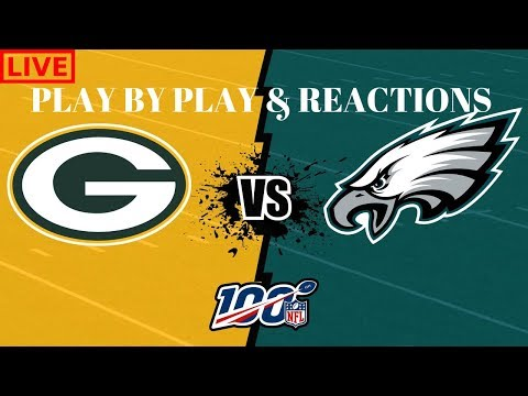 TNF: Philadelphia Eagles Vs Green Bay Packers Live Recap!