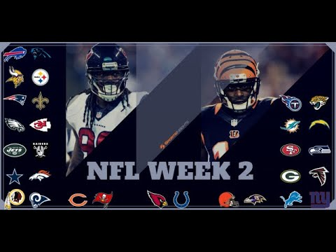 SPOTLIGHT SPORTS TALK NFL WEEK 2 PICKS