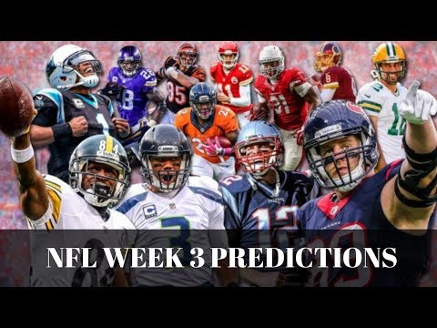 The Spotlight Sports Talk NFL Week 3 Predictions!!