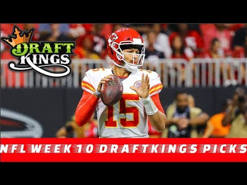 The Spotlight Sports Talk |  NFL Week 10 DraftKings Picks