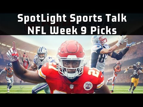 SpotLight Sports Talk Podcast |NFL Week 9 Picks!
