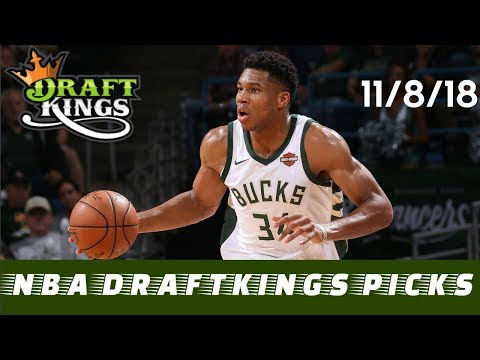 The Spotlight Sports Talk | 11/8/18 NBA DraftKings Picks