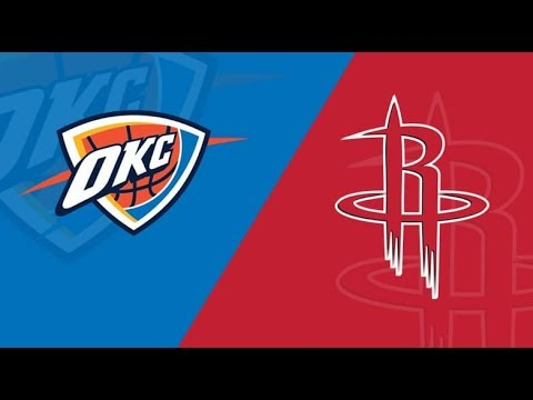 NBA STREAM : Oklahoma City Thunder Vs Houston Rockets | Live Play By Play Reactions