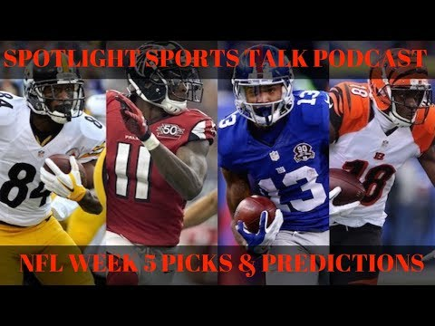 SpotLight Sports Talk | NFL Week 5 Picks! Ep.5