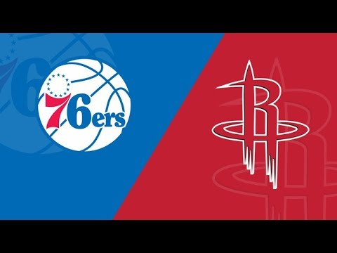 NBA STREAM: Philadelphia 76ers Vs Houston Rockets | Live Play By Play & Reactions