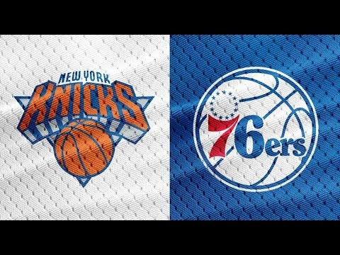 NBA STREAM: Philadelphia 76ers Vs NewYork Knicks | Live Reactions & Play By Play
