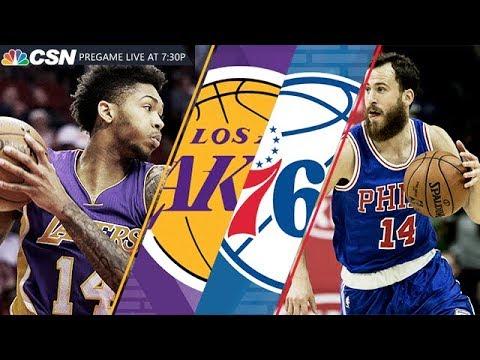 NBA Stream: Philadelphia 76ers Vs Los Angeles Lakers | Live Reactions