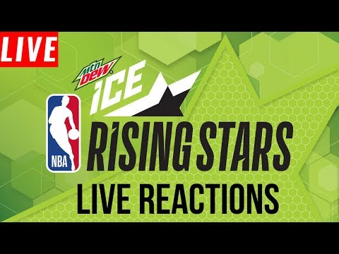 NBA STREAM: Rising Stars USA VS WORLD  | Live Reactions & Play By Play