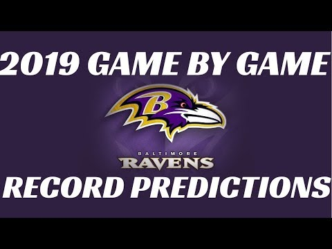 2019 NFL Teams Record Predictions Baltimore Ravens