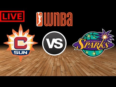 WNBA STREAM: Connecticut Sun Vs Los Angeles Sparks | Live Play By Play & Reactions