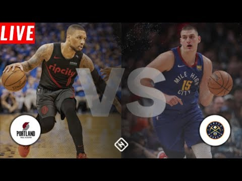 NBA PLAYOFFS: Denver Nuggets  Vs Portland Trailblazers | Live Play By Play & Reactions (Game 6)