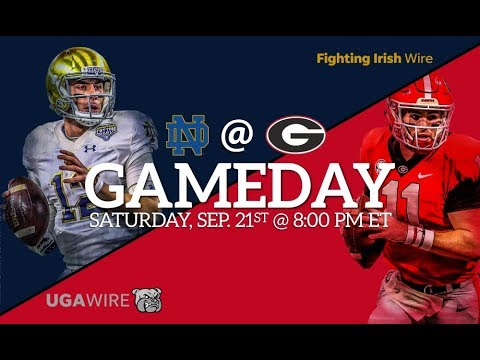 #7 Notre Dame Fighting Irish  Vs #3 Georgia Bulldogs | Live Play by Play & Reactions