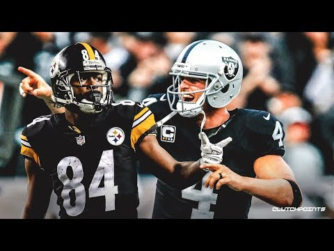 ANTONIO BROWN  TRADED TO THE RAIDERS LIVE REACTION !!!!!