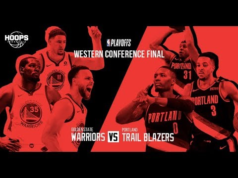 NBA PLAYOFFS : Golden State Warriors Vs Portland Trail Blazers | Live Play By Play & Reactions