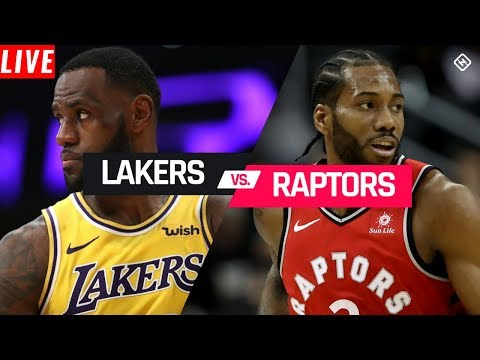 NBA STREAM: Los Angeles Lakers Vs Toronto Raptors | Live Play-ByPlay Reactions