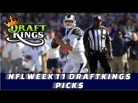 NFL Week 11 Draftkings Picks