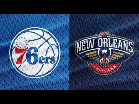 NBA STREAM: Philadelphia 76ers Vs New Orleans Pelicans  | Live Play By Play & Reactions