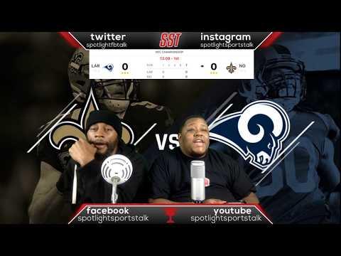Los Angeles Rams  Vs New Orleans Saints | Live Reaction