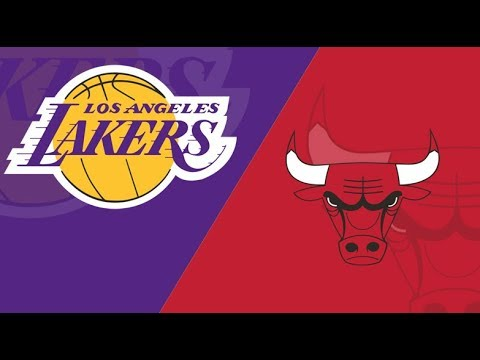Los Angeles Lakers Vs Chicago Bulls | Live Reaction