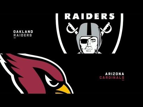Oakland Raiders Vs Arizona Cardinals NFL Preseason Week 2 Recap!!