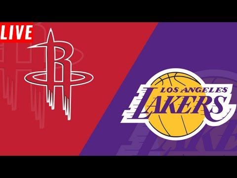 NBA STREAM: Houston Rockets Vs Los Angeles Lakers  | Live Play By Play & Reactions