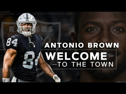 Welcome Antonio Brown To The Oakland Raiders