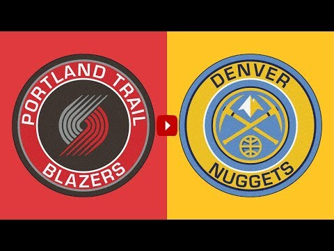 NBA PLAYOFFS: Portland Trail Blazers Vs Denver Nuggets   | Live Play By Play & Reactions (Game 5)