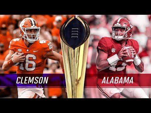 Clemson Tigers Vs Alabama Crimson Tide National Championship| Live Reaction