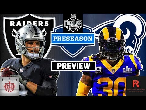 Los Angeles Rams Vs Oakland Raiders Preseason Week 1 Preview